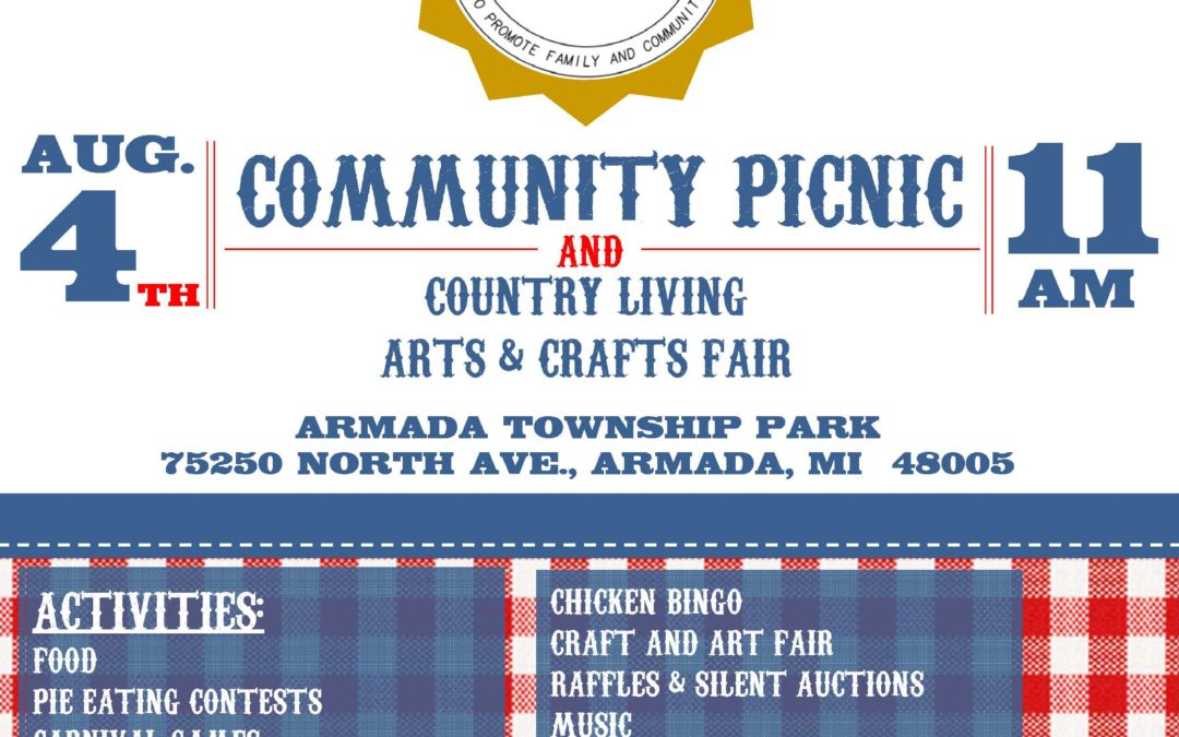 Armada Township Community Picnic and Country Living Arts & Crafts Fair