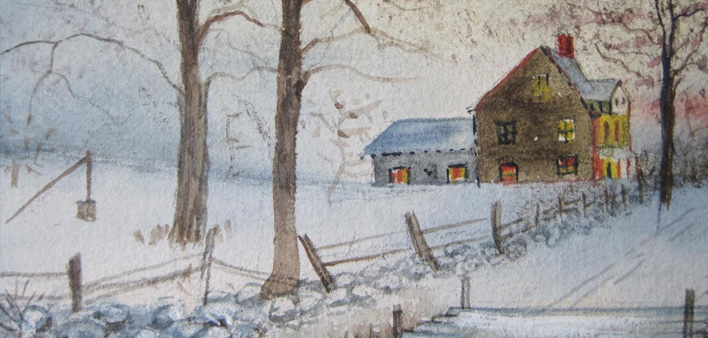 Macomb Farm in Winter: A Holiday Card to our Readers – 1904