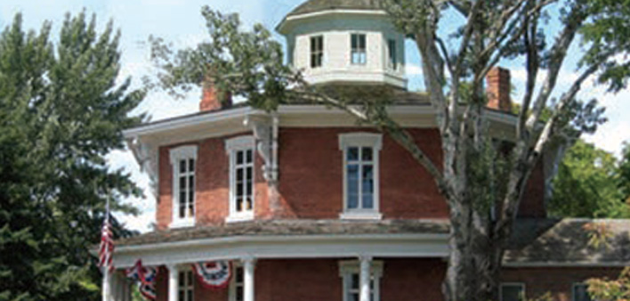 Historic Octagon House – 1860