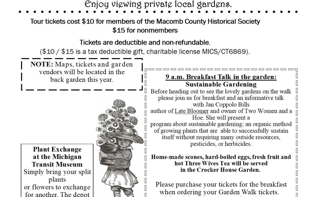 Crocker House Garden Walk & Breakfast