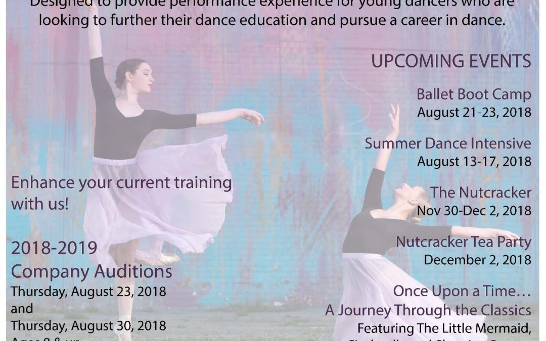 2018-2019 Company Auditions