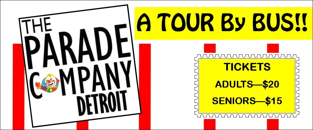 Parade Company Detroit Bus Tour