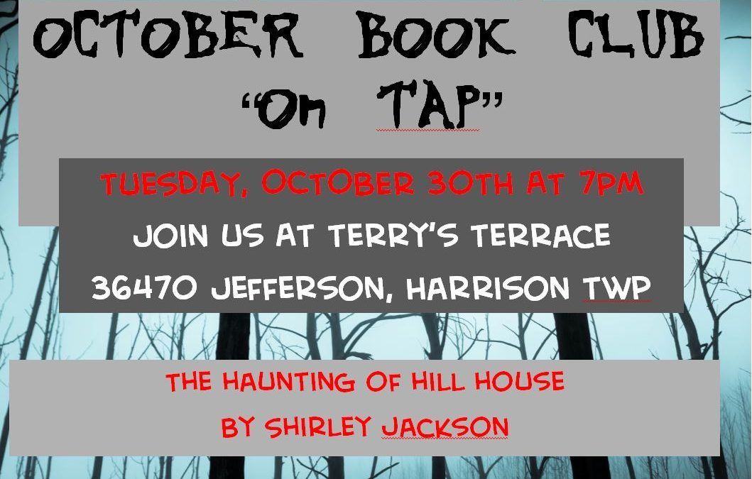 October Book Club – On Tap